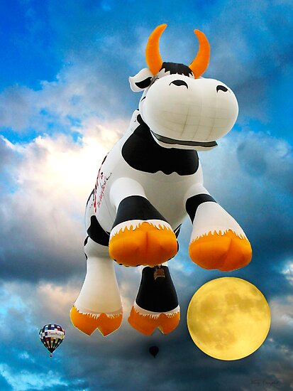 The Cow Jumped Over The Moon by Mary Campbell