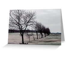 Norland Golf Course - Winter Scene Greeting Card