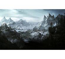 The Elder Scrolls V - Skyrim landscape Photographic Print