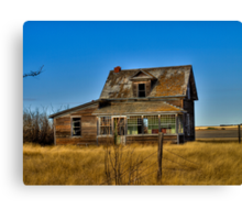 1920's Homestead  Canvas Print