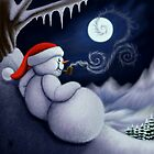 CHILLIN' SNOWMAN by DALE CRUM
