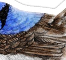 Little Wren in Natural Sticker