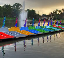 Paddle Boats by Kelly Turnbull