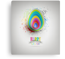 Easter Background Canvas Print