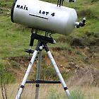 Telescope Mailbox by Marilyn Harris