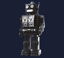 retro robot Kids Clothes