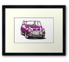 1991 Rover Mini Cooper  Framed Print