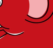 Plumpy Elephant Sticker