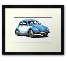 1954 Volkswagon Beetle Framed Print