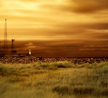 South Gare Lighthouse (IR) by PaulBradley