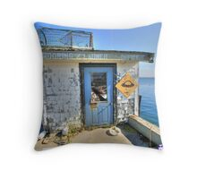 Mooring Launch. Throw Pillow