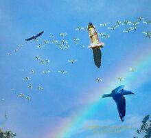 A CROWDED SKY by Ekascam