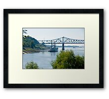 Mississippi Riverboat Framed Print