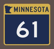MINNESOTA HWY 61 by OTIS PORRITT