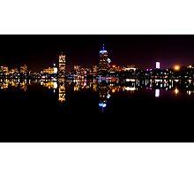 Boston, MA Skyline Photographic Print
