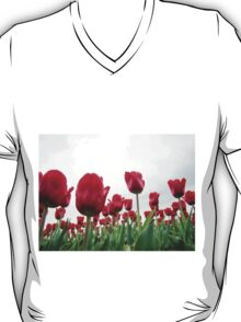 Red tulips 5 T-Shirt