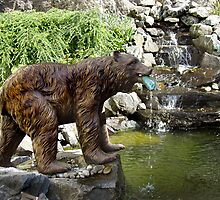 Fishing Bear by Merilyn