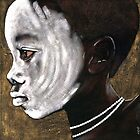 White faced Surma boy by Neil Elliott