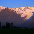 Fox Glacier in Pink by chriso