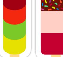 Quadruple Icelollies Sticker