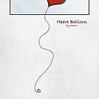 Heart Balloon by Muarw