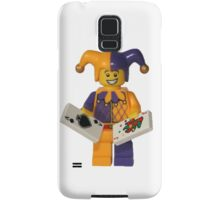 LEGO Jester with cards Samsung Galaxy Case/Skin