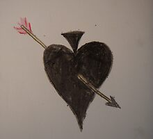 Cupid broke the Gambler's Heart by tobytoby