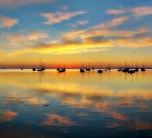 Panoramic Sunrise by Heather Prince