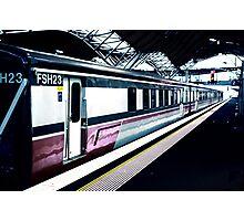 Train into the light Photographic Print