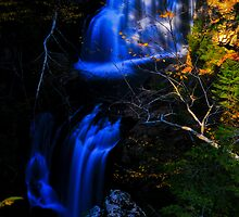Crystal Cascade, Pinkham Notch, White Mountain National Forest, NH by Richard VanWart