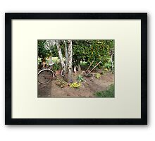 Good old days -- Ancient times !!! Framed Print