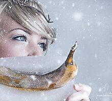 Frozen Banana by Andreas Stridsberg