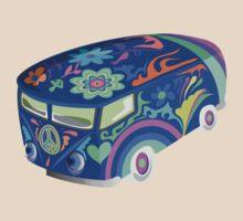 60's Psychedelic Van by Zehda