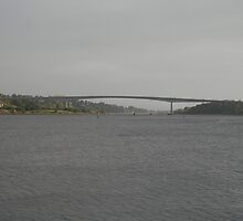 Bridge across The River Foyle by Iani