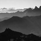 Black summits by Willy Vendeville