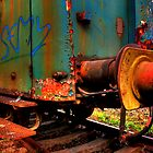 rusty train 1 by danapace