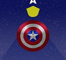 Captain America  by disneyfied