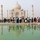 Taj Mahal by Lidiya