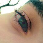 tus ojos verdes, oasis para mi sed... by florch