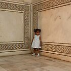 Little Girl, Taj Mahal by Lydia Cafarella