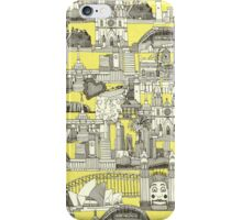 AUSTRALIA toile de jouy iPhone Case/Skin