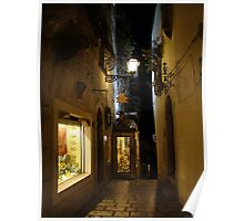 strolling along Taormina Poster