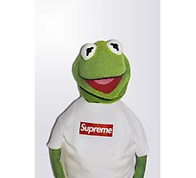 Kermit for Supreme 2 Media Cases, Pillows, and More. Photographic Print