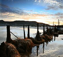 Fish Hoek Beach III by louishiemstra