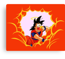 Son Goku Canvas Print