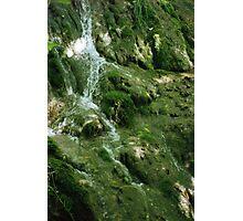 Falls at the Natural Bridge Photographic Print