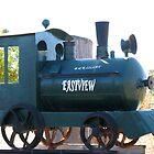 Train Mailbox by Marilyn Harris