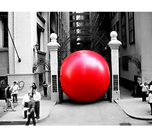 Red Bubble!  Photographic Print