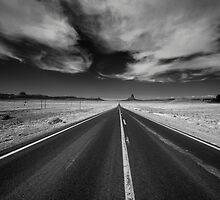 Road to the valley  by Rob Hawkins