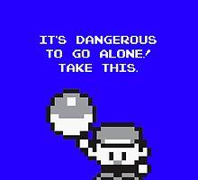 Take This! Blue Version by SteveYaas
